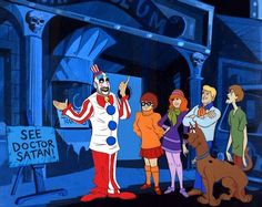 """What if horror greatest villains were in former episodes of """"Scooby-Doo""""? by IBTrav"""