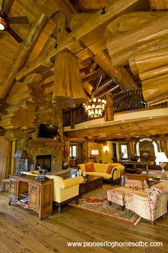 the most popular log home interiors ideas are on pinterest log