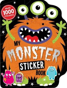 49b96d9e480f My Monster Sticker Activity Book by Make Believe Ideas http://www.amazon