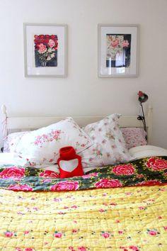 sleep with flowers