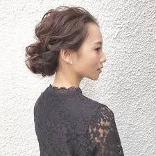 センター分け オールバック 女 の画像検索結果 前髪なし ヘア ヘア
