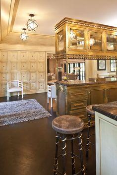 Best kitchen of life? I THINK so! Kelly Wearstler Residential #kellywearstler #kitchen #design
