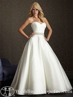 Allure Bridal Gown 2502 - Visit Wedding Shoppe Inc. for designer bridal gowns, bridesmaid dresses, and much more at http://www.weddingshoppeinc.com