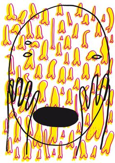 Illustration for German magazine Giddyheft