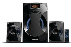Philips MMS-4545B 2.1 Channel Speakers System At Rs.3499 From Amazon