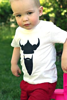 Viking Children's Shirt by HeythereMama on Etsy, $12.00