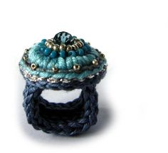 ○ Häkelring ○  von crochet.jewels auf DaWanda.com