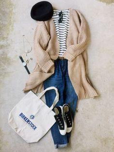 italie to franceのカーディガンを使ったナチュラル服のイタフラのコーディネートです。WEARはモデル・俳優・ショップスタッフなどの着こなしをチェックできるファッションコーディネートサイトです。