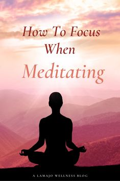 Being able to improve my focus is actually one of the reasons why I first started to meditate.  I wanted to create a habit that was going to help me be able to concentrate better.  And what do you know… It worked!  Over time, I learned some techniques of how to bring my focus back to my meditation.  This not only helped me to improve my meditation skills but also my focus throughout the day.  #Meditation#LamajoWellness Meditation For Health, Meditation For Beginners, Meditation Quotes, Yoga Meditation, Meditation Supplies, Peace On Earth, To Focus, Inner Peace, Love And Light