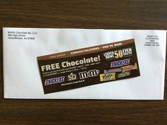 Free Mars Chocolate product coupon Win #freestuff #freebies #samples #free