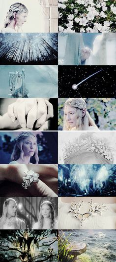 """a sister they had, galadriel, most beautiful of all the house of finwë; her hair was lit with gold as though it had caught in a mesh the radiance of laurelin."""