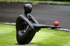 Pomegranate Offering - Large by Orla de Bri   Irish Art