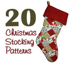 Christmas Stocking Patterns. Inspiring!