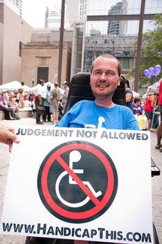 http://www.HandicapThis.com 3eLove, Stevie Hopkins/  Disability Pride Parade 2011