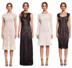 crochet dresses by Helen Rödel