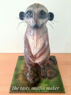 Mike the meercake...or should I say meerkat by the tasty muffin maker .UK
