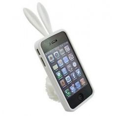 Iphone 5 Rabbit Case With Furry Stand, $10