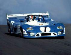 MATRA 670 B Francois CEVERT 1973 Dijion 1000kms winners