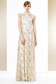 Ida Sjöstedt spring/summer long gorgeous dress