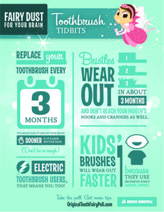 Now that you know, don't brush off these tips! Keep your toothbrush in sparkling condition. #ToothbrushTidbits #OrigToothFairy