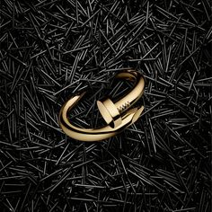 """Juste un Clou (""""Just a Nail"""") collection from Cartier, inspired by a nail bracelet Aldo Cipullo created for Cartier New York in the '70s."""