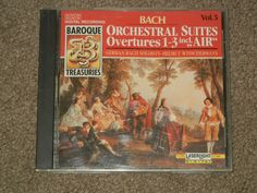 BACH: Orchestral Suites Nos. 1-3 (CD, Music, Classical, Instrument, Orchestra) #Suite