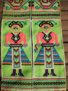 Embroidered Textile Tribal Panel By The Hmong door KulshiMumkin