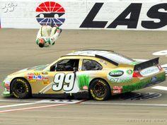 Carl Edwards Backflip - Las Vegas Motor Speedway