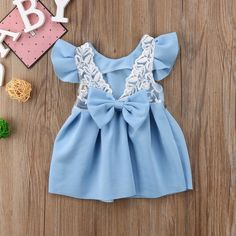 Baby Girl Tops Bow Dresses Kids Lace Ball Gown Tutu Party Dress Sundress Kids Baby Girls Toddler Princess Clothing 3M-3T Lace Ball Gowns, Ball Gown Dresses, Bow Dresses, Toddler Girl Dresses, Girls Dresses, Summer Dresses, Princess Outfits, Girl Outfits, Baby Girl Tops