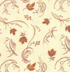 Maple Island by Holly Taylor for Moda Fall by SunValleyFabric