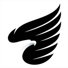 Phoenix Tattoo Design, Skull Tattoo Design, Tattoo Designs, Eagle Tattoos, Wing Tattoos, Sleeve Tattoos, Logo Design Trends, Logo Design Inspiration, Eagle Icon