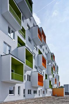Dornyk - Ivanska cesta, Bratislava, 2014 - Architekti Šebo Lichý #facade