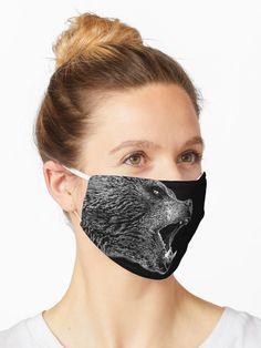 🖤 #hjorleifsonart #bear #bearart #icelandic #artist #vikings #vikingsymbols #vikingstyle #mask