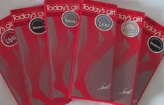 Vtg Today's Girl Pantyhose Hosiery Sheer Nylons Sandalfoot New Lot Box Hanes 80s