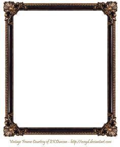 frame png   Elaborate Wood Frame 3 by EKDuncan by EveyD on deviantART