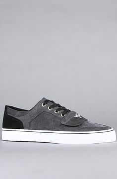 $65 The Cesario Lo XVI Sneaker in Faded Black by Creative Recreation -- Use repcode SMARTCANUCKS at the checkout for 20% off your order on karmaloop -- http://www.lovekarmaloop.com
