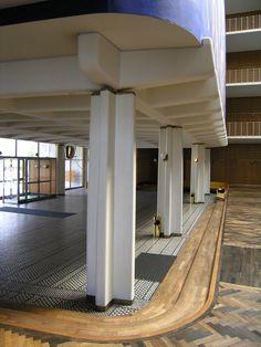 arne jacobsen / aarhus town hall, denmark