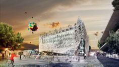 Italy Pavilion At Expo Milano 2015 - Picture gallery Milan, Expo 2015, Pavilion Architecture, Design Competitions, Town And Country, Facade, Pictures, Gallery, Magazine
