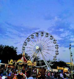 Satul de vacanţă - Mamaia Romania Ferris Wheel, Fair Grounds, Sky, World, Photos, Travel, Heaven, Pictures, Viajes