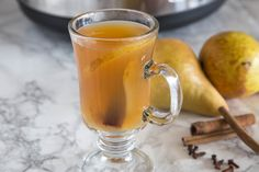 Slow Cooker Spiced Pear Cider Recipe on Yummly. @yummly #recipe