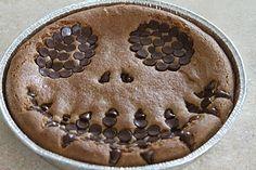 Ooey Gooey Jack Skellington Cookie Cake