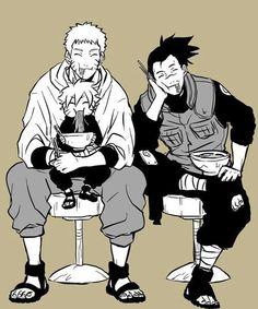 So cute. I have this idea that Naruto and Iruka still have lunch together once a week and suddenly Bolt tags along. It's just a regular thing and Iruka's soo happy for Naruto<<<< Yeah, me too