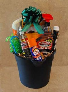 car care gift basket
