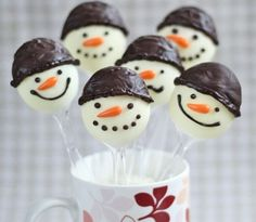 My Little Party Blog. Especial Navidad. Postres Navideños Decorativos.