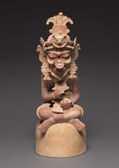Artisan, 250-600 Guatemala, Petén region, Maya style (250-900), Maya style (250-900) earthenware with colored slips
