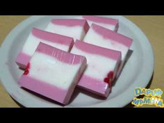 Puding Cake, Busa, Asian Desserts, Jelly, Watermelon, Cake Recipes, Food And Drink, Pudding, Sweets