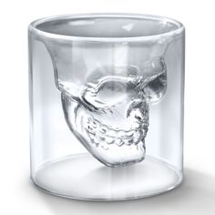 Cool Material - Skull Shot Glass - hmmm a friend of mine would love this