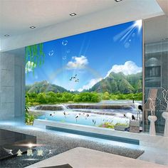 Cheap wallpaper modern, Buy Quality paper wallpaper directly from China paper label Suppliers: Manhattan 3d papel de paede, New York City large mural wallpaper night background scenery wallpaper for walls 3 d contac