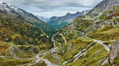 Berthold Steinhilber: Susten Pass, Switzerland