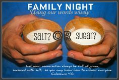 Using Words Wisely: Family NIght Lesson- adapt for FHE and LDS resources Bible Object Lessons, Fhe Lessons, Lessons For Kids, Family Home Evening Lessons, Sunday School Lessons, Church Activities, Family Activities, Kids Church, Church Ideas